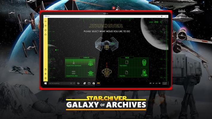 STARchiver ZIP RAR for Windows 8