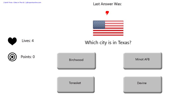 do you know the cities and the states?