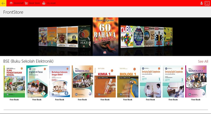 biMBA Bookstore for Windows 8