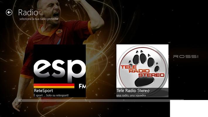 Ascolta le tue radio preferite