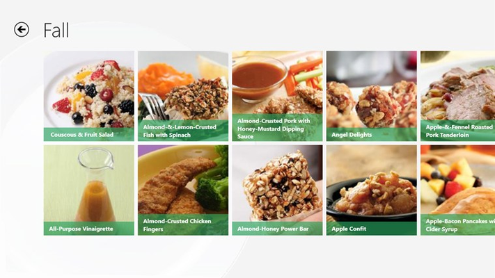View countless recipes and save them for future meals.