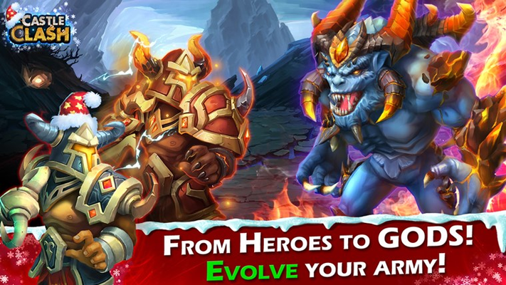 FROM HEROES TO GODS! EVOLVE YOUR ARMY!