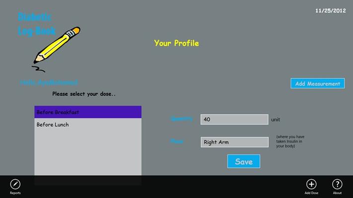 Having your Profile