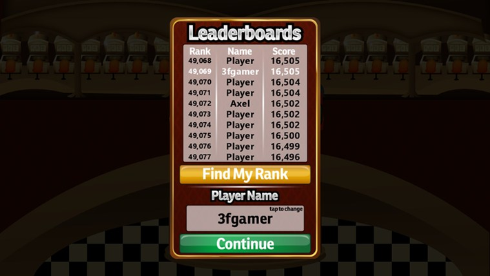 Climb the ranks in the global leaderboards.
