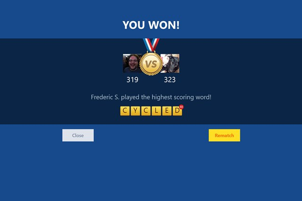 Words With Friends for Windows 8