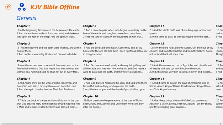 list chapter