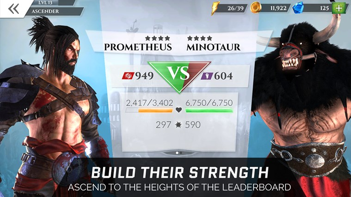 BUILD THEIR STRENGTH ASCEND TO THE HEIGHTS OF THE LEADERBOARD!