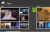 Auto-categorization to view files by media type.