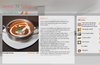 Recipe details page that can play videos as well