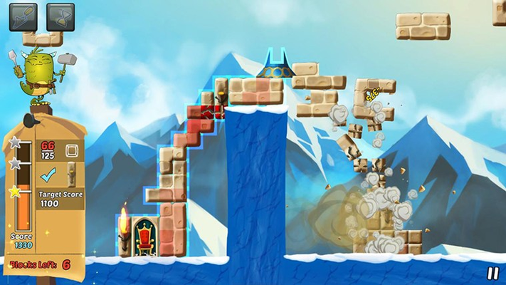 Avoid crumbling your castle by with too much weight