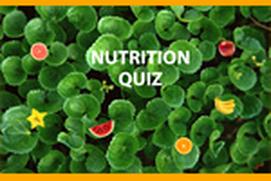 Nutritional Quizz