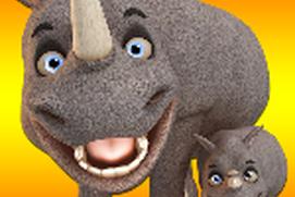 Talking Rhino Hero And Junior