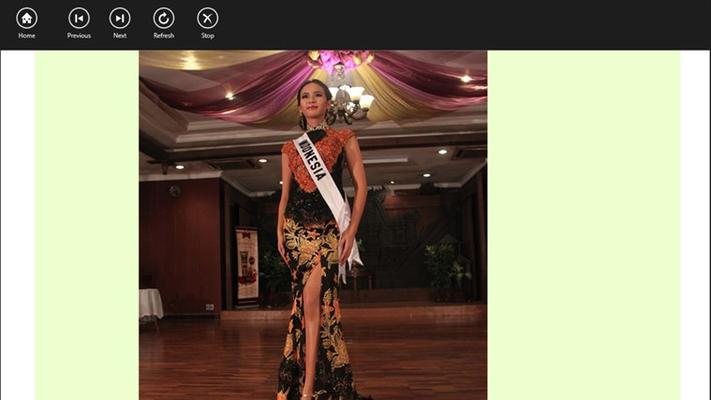 Aplikasi Miss Indonesia menampilkan foto, video dan berita terbaru.