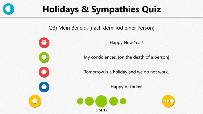 German Study List Quiz