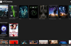 Main screen. Add/Edit/Play movies