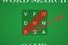 Word Search Game Deluxe