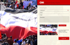 Contribute your story or opinion to CNN iReport by uploading photos and video directly from your app.
