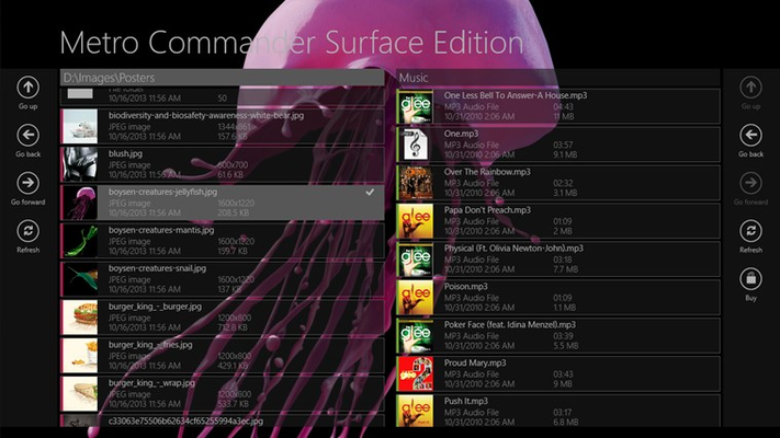 Metro Commander Surface Edition for Windows 8