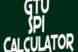 GTU SPI Calculator