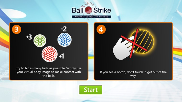 Hit the balls, avoid from Bombs!