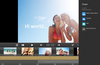 Output menu: Share videos with the world