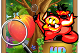 The Rainbow Apple - Hidden Object