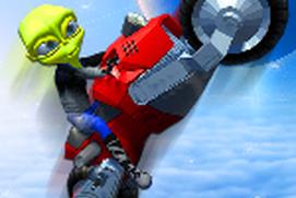 Bike Future Race Alien World