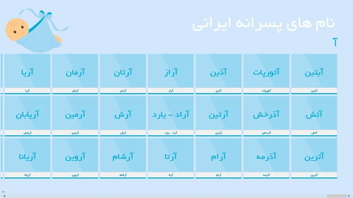 Persian Boy Names
