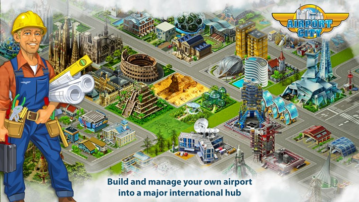 Build and manage your own airport into a major international hub