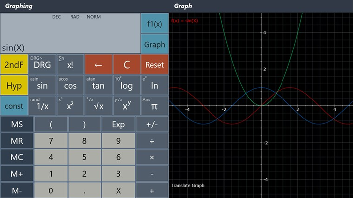 Graphing Calculator (8 equations)