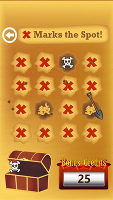 Hunt for treasure with a minigame in each machine.