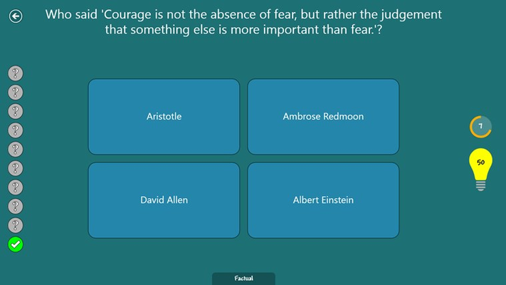 Quiz for Geeks for Windows 8