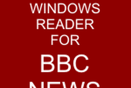 Universal Windows Reader for BBC News