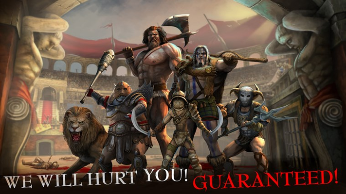 We will hurt you! Guaranteed!