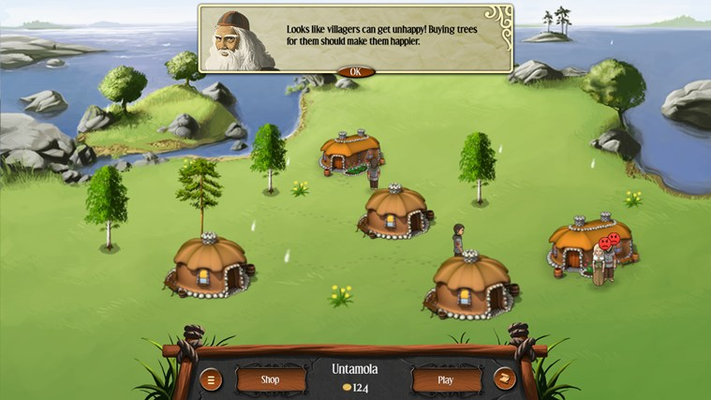 Build villages and guide your tribe to prosperity.