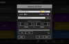 Press and hold on an instant button to change its audio file, color and mix points.