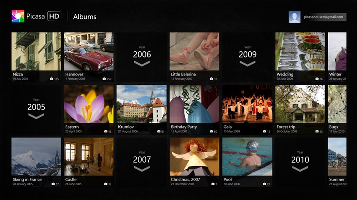 Picasa Viewer HD for Windows 8