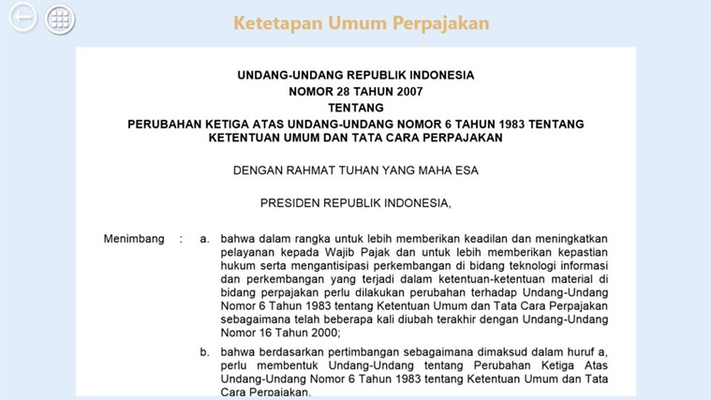 Aplikasi UU Indonesia adalah aplikasi tidak berbayar dan siap di unduh sebagai bahan pembelajaran untuk mengetahui beberapa Undang-undang yang berlaku di Indonesia