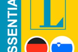 Slovenian-German Langenscheidt Essential Dictionary
