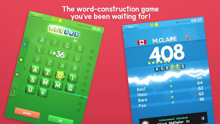 The word-construction game you've been waiting for!