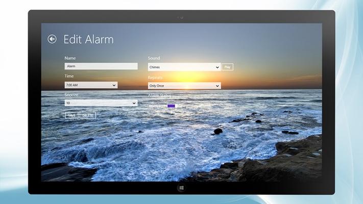 Add/Edit Alarms