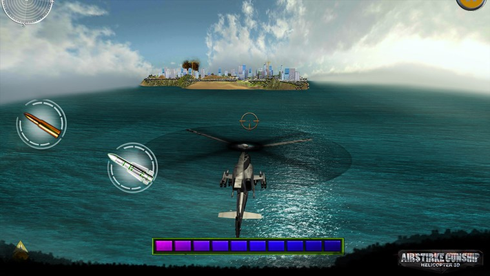 Air Strike Gunship Helicopter 3D for Windows 8
