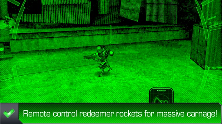 Remote control redeemer rockets for massive carnage!