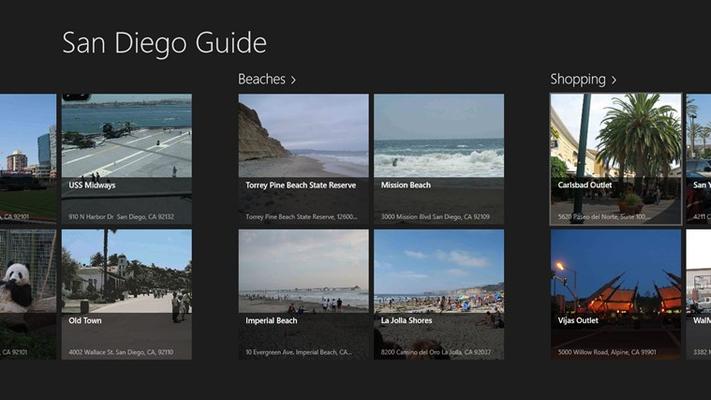 San Diego Guide Shopping, Beach