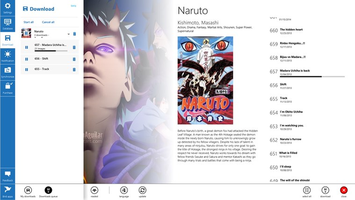 Manga Bird for Windows 8