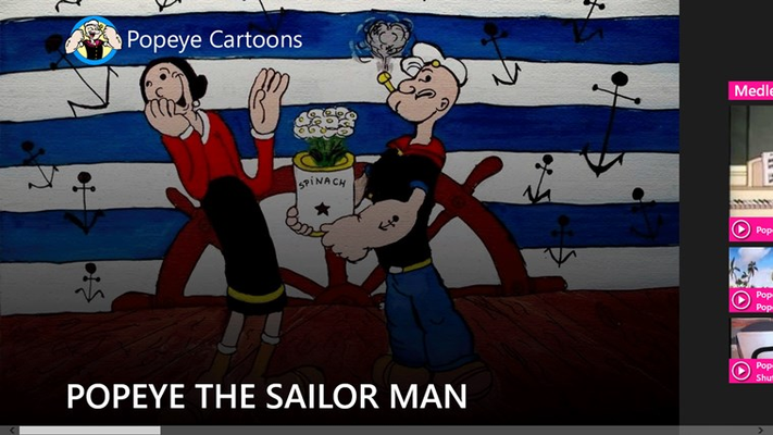 Home Page - Poeye the sailor man