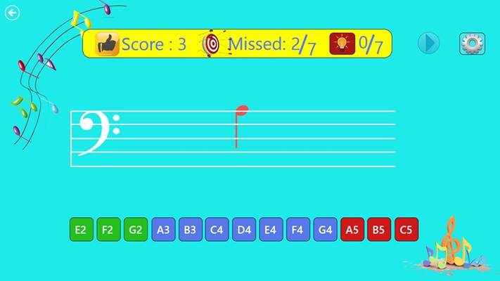 Test yourself on the Bass Clef!!!