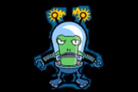 Shoot the alien