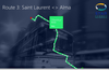 Route detail with stop summary