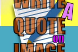 Write a Quote on Paper